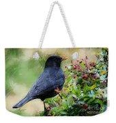 Hungry Blackbird Weekender Tote Bag