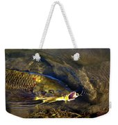 Hungry Carp Weekender Tote Bag