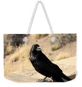 Hungry Crow Weekender Tote Bag