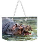 Hungry Hungry Hippo Weekender Tote Bag