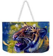 Portrait Of A  Tiger Weekender Tote Bag