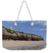 Hunstanton Cliffs Weekender Tote Bag