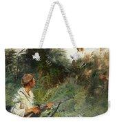 Hunter And Mallards Weekender Tote Bag