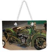 Hunter Green Indian Motorcycle...   # Weekender Tote Bag