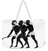 Hunters  Weekender Tote Bag by Michal Boubin