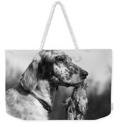 Hunting Dog With Quail, C.1920s Weekender Tote Bag