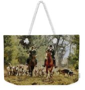 Hunting Dogs For Wild Boar Weekender Tote Bag