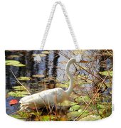 Hunting For Food Weekender Tote Bag