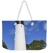 Hunting Island Lighthouse South Carolina Weekender Tote Bag