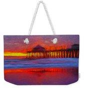 Huntington Beach Weekender Tote Bag
