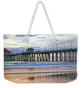 Huntington Beach Pier Panorama Colo Weekender Tote Bag
