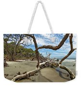 Huntington Island Panorama Weekender Tote Bag