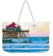 Huntington Pier Weekender Tote Bag