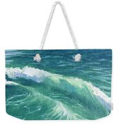 Huntington Small Waves  Weekender Tote Bag