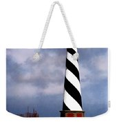 Hurricane Coming At Cape Hatteras Lighthouse Weekender Tote Bag
