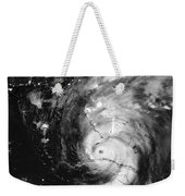 Hurricane Irma Infrared Weekender Tote Bag