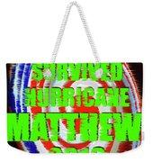 Hurricane Matthew Survivor Weekender Tote Bag