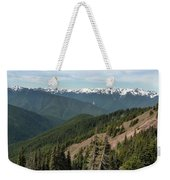 Hurricane Ridge View Weekender Tote Bag