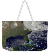 Hurricane Sandy Battering The United Weekender Tote Bag