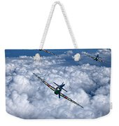 Hurricanes On Your Tail Weekender Tote Bag