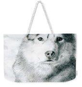 Husky Weekender Tote Bag