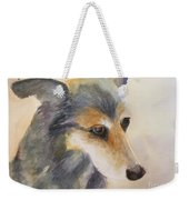 Husky Mix Weekender Tote Bag