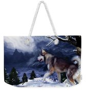 Husky - Mountain Spirit Weekender Tote Bag
