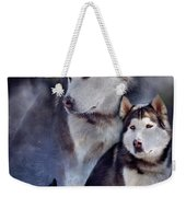 Husky - Night Spirit Weekender Tote Bag