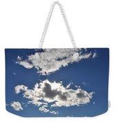 Huson River Clouds 1 Weekender Tote Bag
