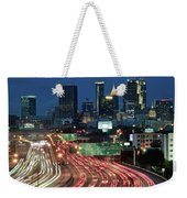 Hustle And Bustle Of Atlanta Roadways Weekender Tote Bag