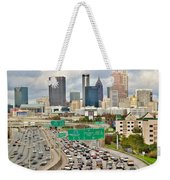 Hustle And Bustle On The Highways And Byways Weekender Tote Bag