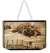 Huts And Temples On Hills Weekender Tote Bag