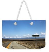 Hwy 142 Heading To San Luis Weekender Tote Bag