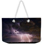 Hwy 52 - Hwy 287 Lightning Storm Image 29 Weekender Tote Bag