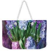 Hyacinth In Hyacinth Vase 1 Weekender Tote Bag