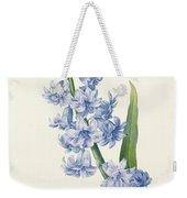 Hyacinth Weekender Tote Bag by Pierre Joseph Redoute