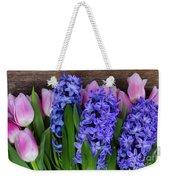 Hyacinths And Tulips II Weekender Tote Bag