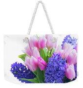 Hyacinths And Tulips  Weekender Tote Bag