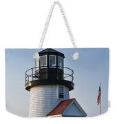 Hyannis Lighthouse Weekender Tote Bag