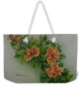 Hybrid Hibiscus Weekender Tote Bag