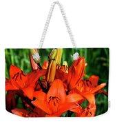Hybrid Lilies Weekender Tote Bag