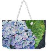 Hydrangea And Water Droplet Weekender Tote Bag