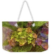 Hydrangea Blossoms Weekender Tote Bag