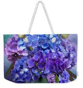 Hydrangea Bouquet - Square Weekender Tote Bag