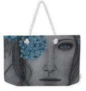 Hydrangea Weekender Tote Bag