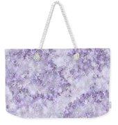 Hydrangea Digital In Lilac Weekender Tote Bag