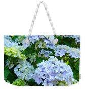 Hydrangea Garden Landscape Flower Art Prints Baslee Troutman Weekender Tote Bag
