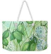 Hydrangea In Green Weekender Tote Bag
