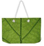 Hydrangea Leaf Weekender Tote Bag