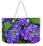 Hydrangea, Macrophylla Teller Weekender Tote Bag